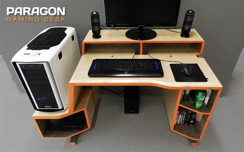 Paragon gaming desk design Image