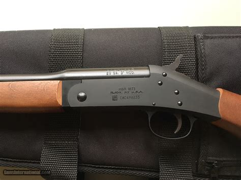 Pardner Shotgun 20 Gauge Single Shot