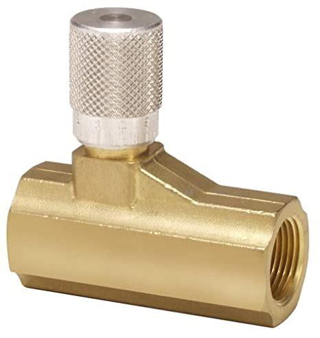 Parker 003371000 337 Series Brass Micrometer Flow