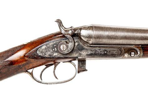 Parker Brothers 12 Gauge Double Barrel Shotgun 1886