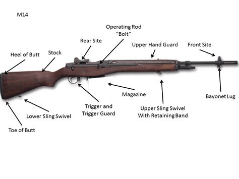 Parts Of The M14 Rifle