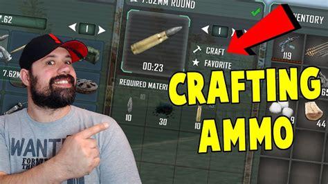 Pathfinder Craft Ammo Without Gunsmithing