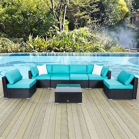 Patio and deck furniture Image