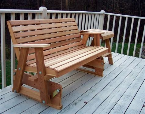 Patio bench glider plans Image