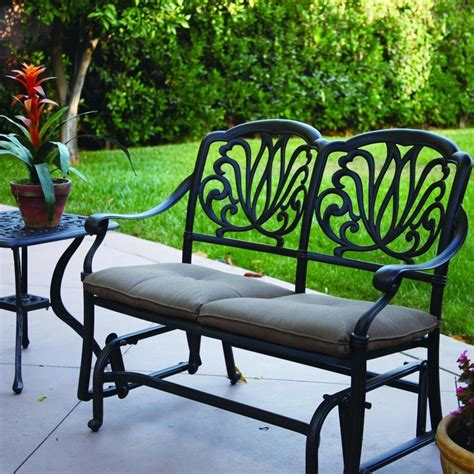 Patio glider bench Image