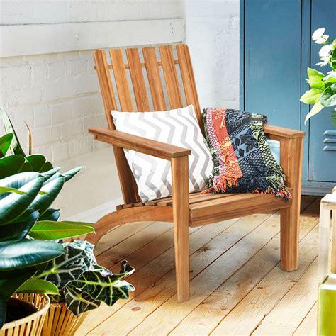 Patio wood chairs Image