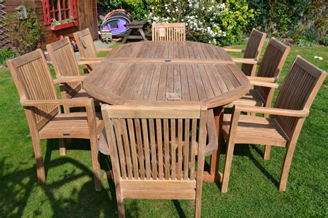 Patio wood furniture Image