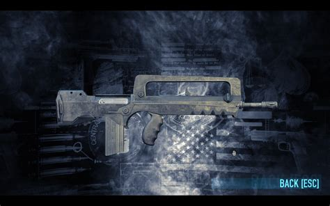 Payday 2 Clarion Rifle Short Barrel