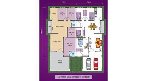Pelan Rumah 3 Bilik Terkini Design Rumah Terkini