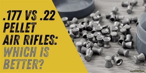 Pellet Rifle 177 Vs 22
