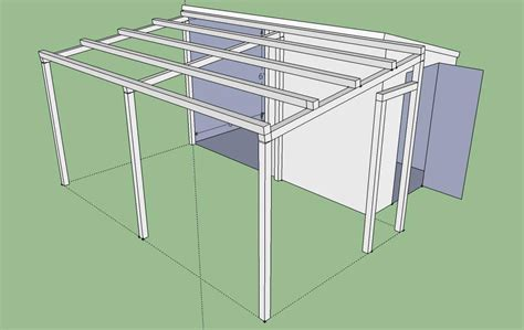 Pent roof shed plans Image