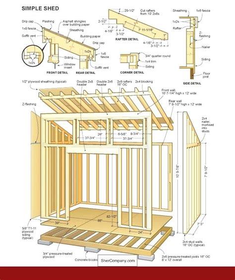Pent shed plans Image