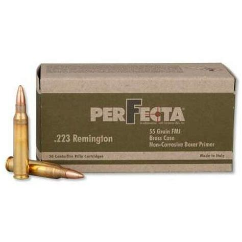Perfecta 223 55grain Ammo