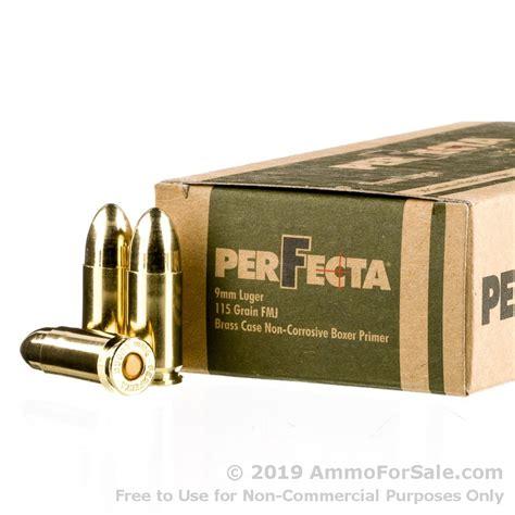 Perfecta Ammo 9mm 115 Grain Penetration