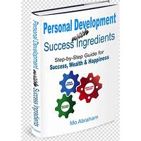 Coupon for personal development with success ingredients