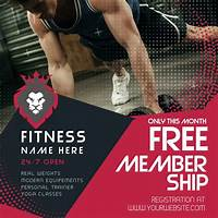 Personal training business, and fitness related courses experience