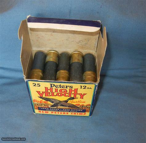 Peters High Velocity Shotgun Shells 12 Gauge