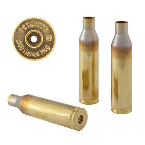 Peterson Cartridge 300 Norma Magnum Brass 300 Norma Magnum Brass 50box