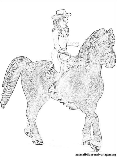 Pferde Ausmalbilder Schleich