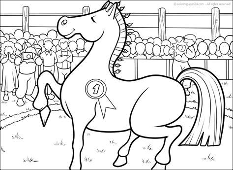 Pferde Malvorlagen Xl