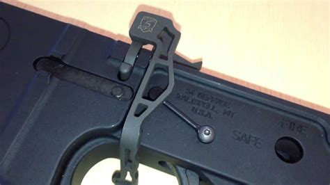 Phase 5 Tactical EBRV2 308 Extended Bolt Release Install