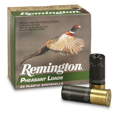 Pheasant Load Shotgun Shells