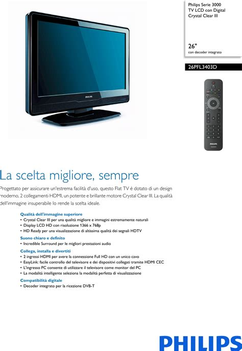 philips 19 inch lcd tv pdf manual