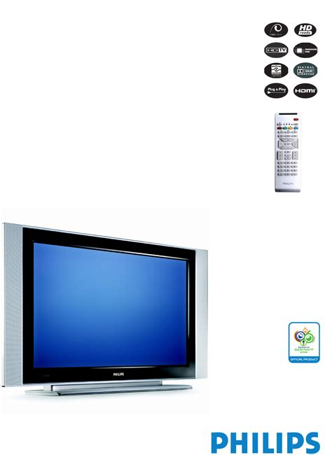 philips 42pfl5332d 42 inch lcd hdtv pdf manual