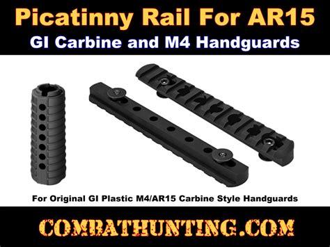 Picatinny Rail For Plastic Handguard