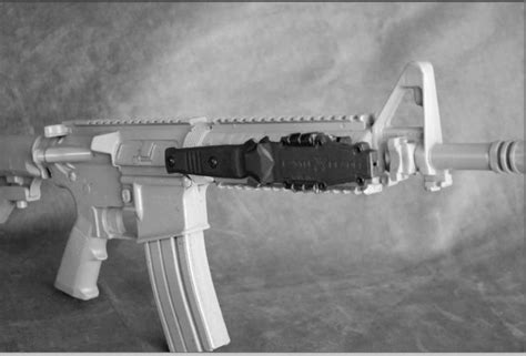Picatinny Rail Knife Holder And Picatinny Rail Red Dot Pistol Mount