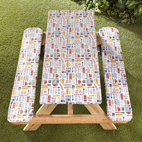 Picnic bench table cover Image