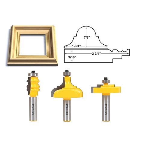 Picture frame router bits Image
