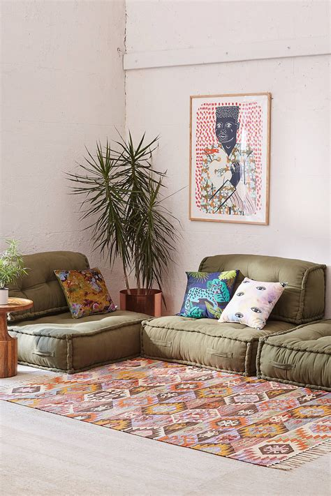 Pillows On The Floor Living Room