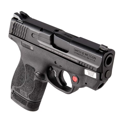 Shopping M P9 Shield 2 0 9mm No Safety Ct Red Laser Smith