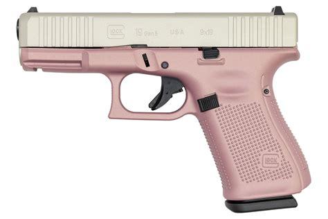 Pink 9mm Glock Handguns