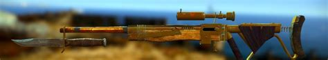 Pipe Bolt Action Sniper Rifle Fallout 4