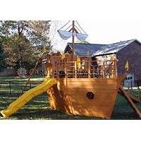 Cheap pirate ship playhouse plans