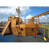 Pirate ship playhouse plans comparison