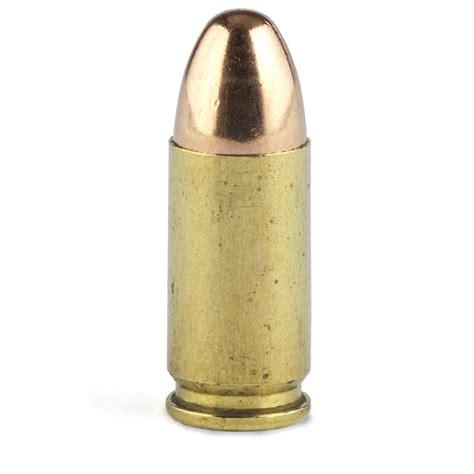 Pistol 9mm Ammo