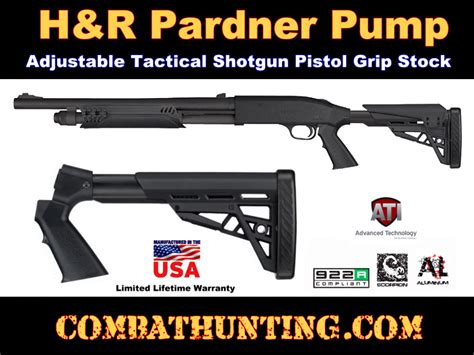 Pistol Grip For Pardner Pump Shotgun