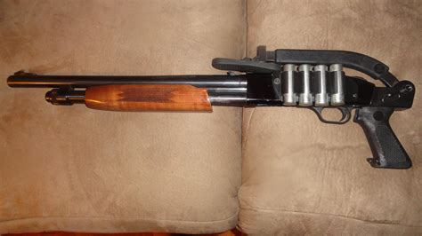 Pistol Grip Shotgun For Bear Defense