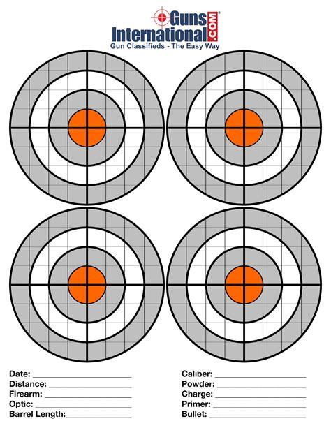 Pistol Shooting Targets - American Target Company