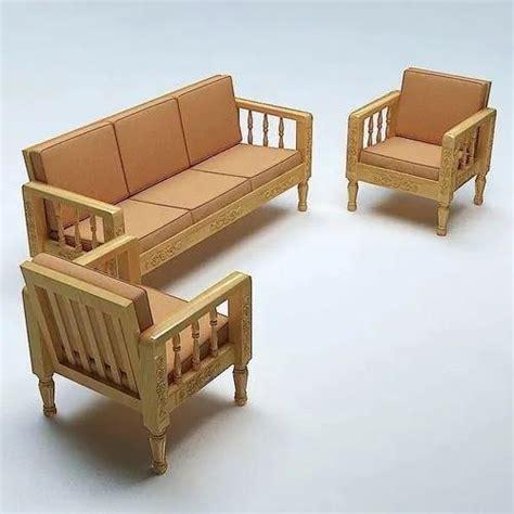 Plain Wooden Sofa Designs