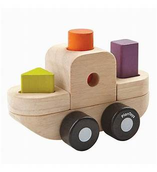 Plan Toys Sorting Puzzle Boat