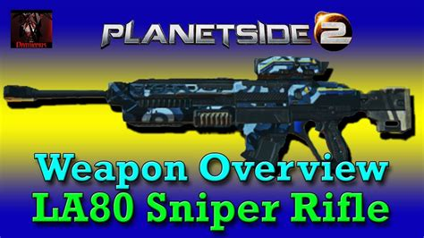 Planetside 2 Best New Conglomerate Sniper Rifle