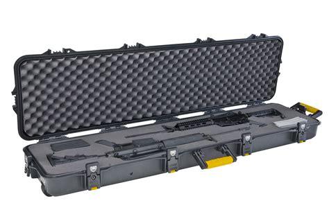 Plano Double Scoped Rifle Case W Wheels