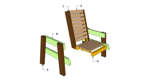 Plans for a Deck Chair