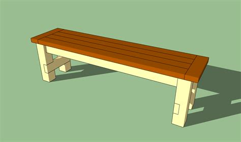 Plans for building a bench seat Image