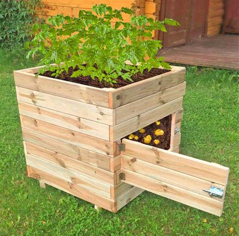 Plans for Wooden Potato Planter