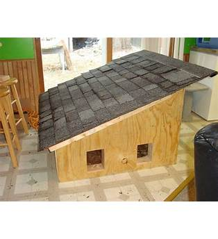 Plans To Build An Insulated Outdoor Cat House